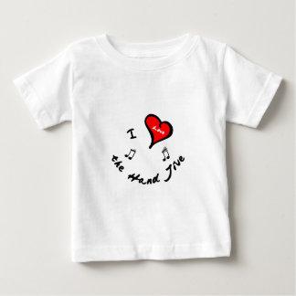 Hand Jive Shirts- I Heart the Hand Jive Baby T-Shirt