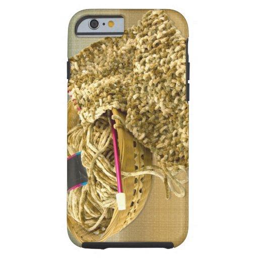 Hand Knit Chenille Yarn iPhone 6 Case