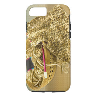 Hand Knit Chenille Yarn iPhone 7 Case