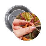 Hand Knitting Button