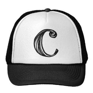 Hand Lettering Alphabet C Trucker Hat