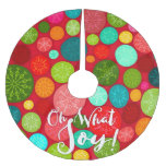 Hand+lettering Brushed Polyester Tree Skirt at Zazzle