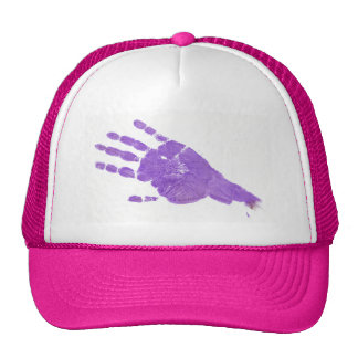 Hand - Light Purple Trucker Hat