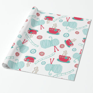 Hand Made Holiday Wrapping Paper