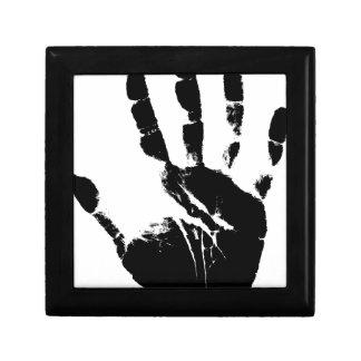 Hand Mark Keepsake Box