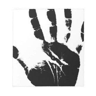 Hand Mark Notepad