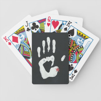Hand Me Michigan Bicycle Playing Cards