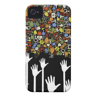 Hand medicine iPhone 4 case