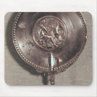 Hand mirror depicting Leda and the swan Mouse Pad