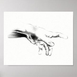 Hand od God Poster