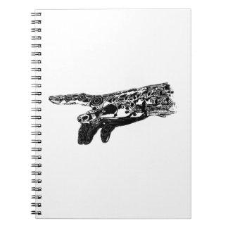 Hand of a Cyborg God? Notebook