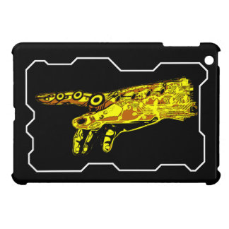 Hand of a Cyborg God (Yellow) iPad Mini Covers
