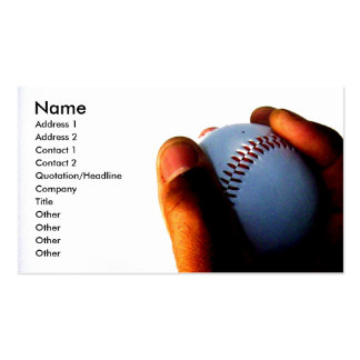Hand of an Athlete Business Cards