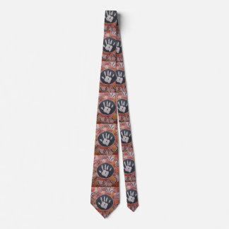 Hand of Baiame Aboriginal Tie