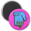 Hand of Blessings Fridge Magnet
