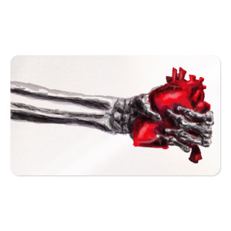 Hand Of Death Business Card