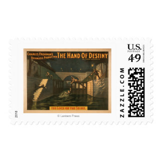 """Hand of Destiny """"The Lock on the Seine River"""" Postage"""