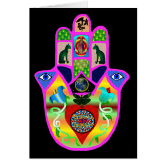 Hand of Fate Greeting Card