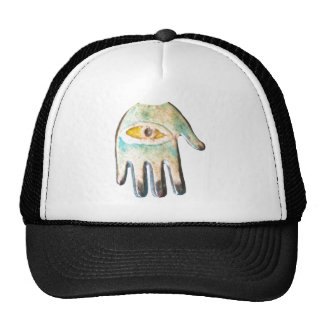 Hand of Fatima evil eye protection Mesh Hat
