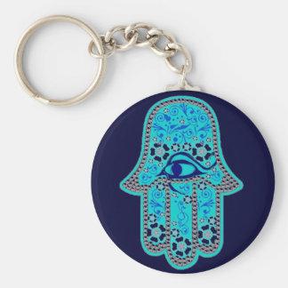 Hand of Fatima hamsa Keychains