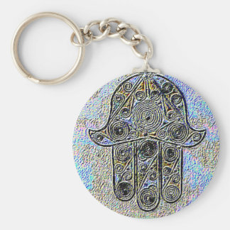 Hand of Fatima Keychain