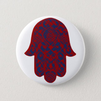 Hand of Fatima Pinback Button
