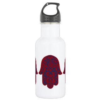 Hand of Fatima Stainless Steel Water Bottle
