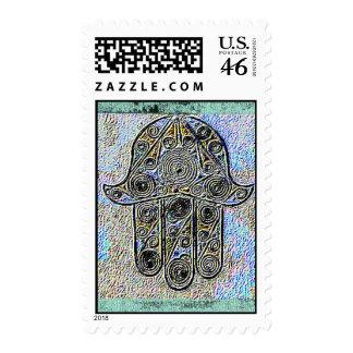 Hand of Fatima stamp