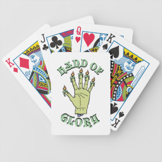 Hand of Glory Bicycle Playing Cards