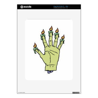 Hand of Glory Decal For The iPad