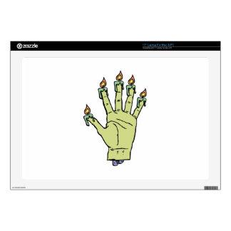 Hand of Glory Laptop Skins
