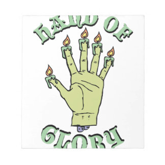 Hand of Glory Notepad