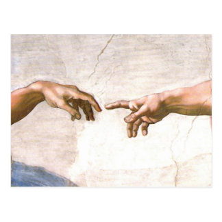 Hand of God by Michelangelo Postcard