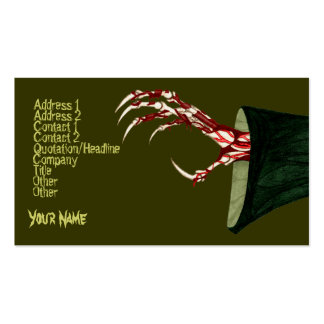 Hand Of Grim Double-Sided Standard Business Cards (Pack Of 100)