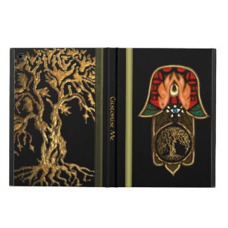 Hand of Hamsa feat: Tree of Life Powis iPad Air 2 Case