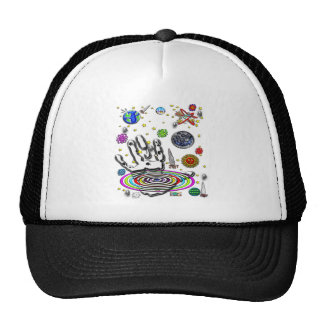 Hand of Humanity Customizable Background Trucker Hat