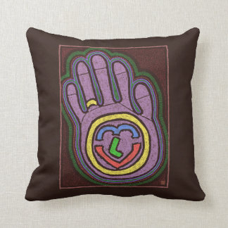 HAND OF LOVE THROW PILLOWS