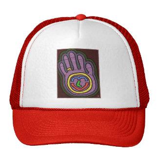 HAND OF LOVE TRUCKER HAT