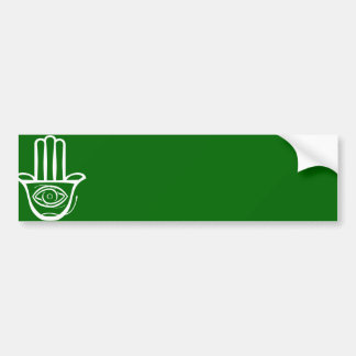 Hand of Miriam (Hamsa) Bumper Sticker