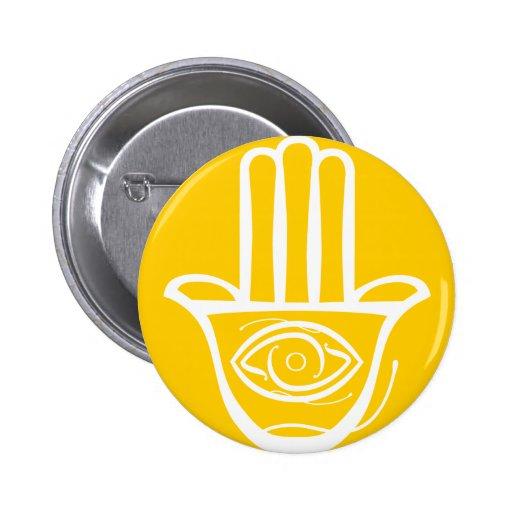 Hand of Miriam (Hamsa) Buttons
