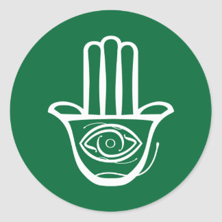 Hand of Miriam (Hamsa) Stickers