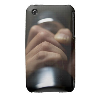Hand of person lifting weights iPhone 3 Case-Mate cases