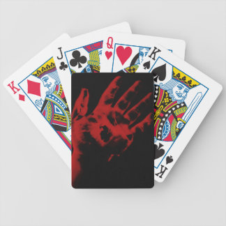 Hand of Poker Bicycle Playing Cards