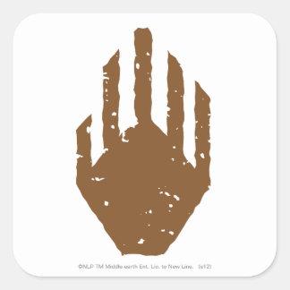 Hand of Saruman Square Sticker
