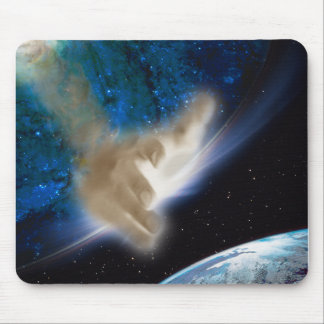 Hand of Yah Mouse Pads