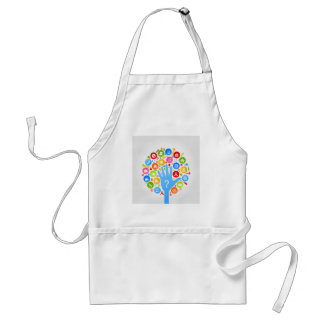 Hand office2 adult apron