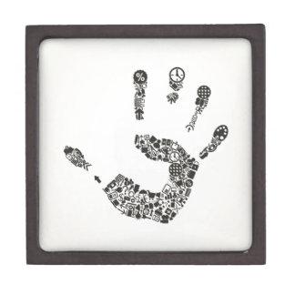 Hand office gift box