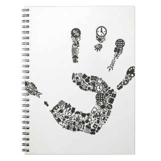 Hand office notebook