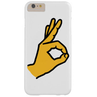 Hand ok barely there iPhone 6 plus case