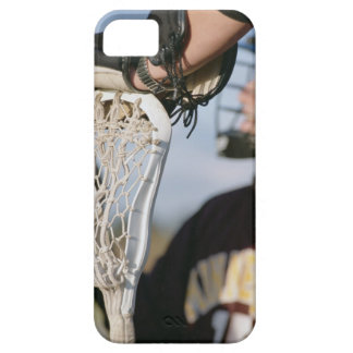 Hand on a Lacrosse Stick iPhone SE/5/5s Case